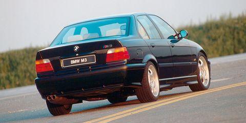 m3 sedan rear