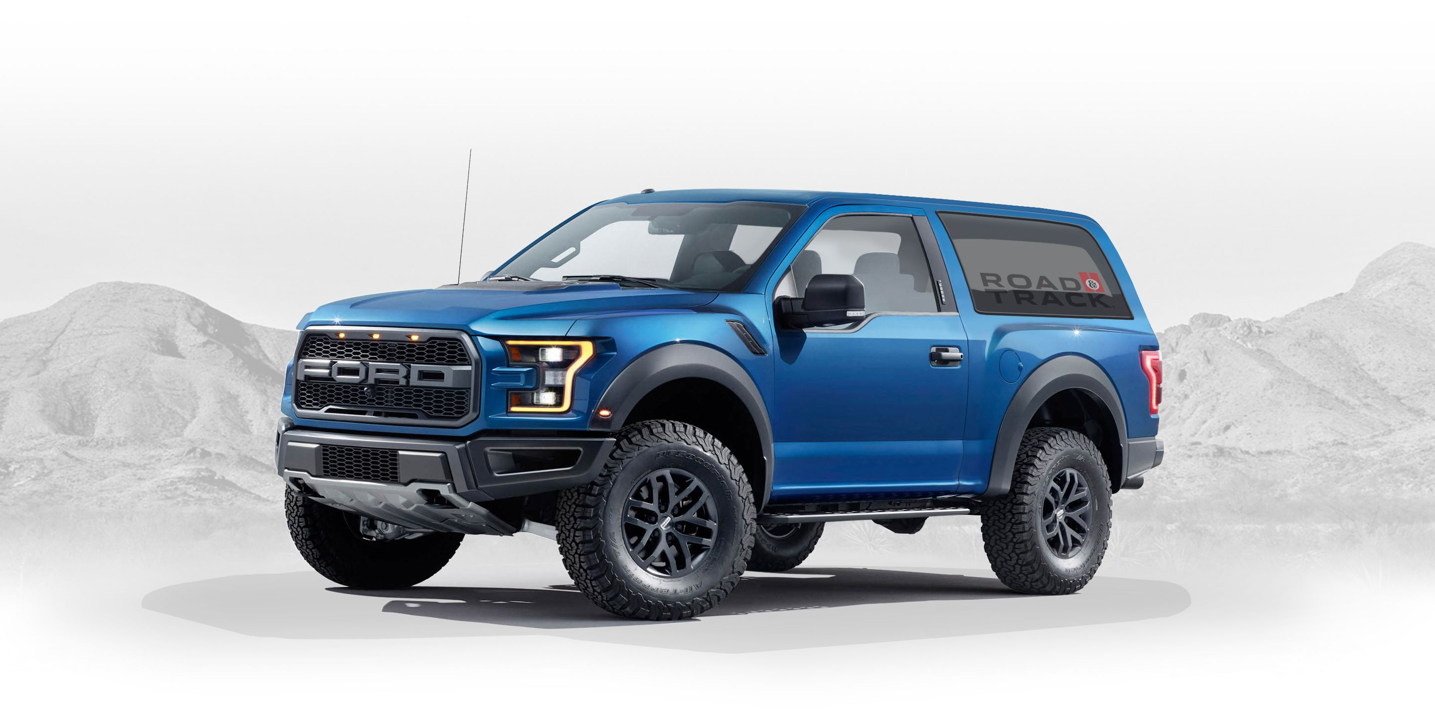 2020 ford bronco designed by fan graphic artist creates ford raptor based bronco designs