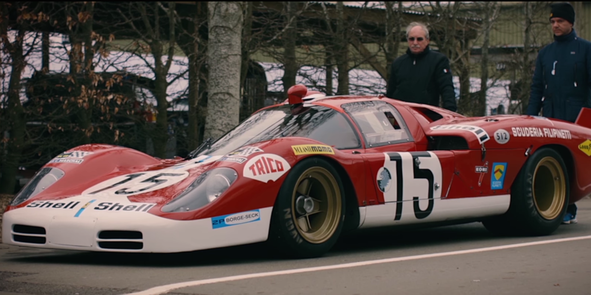 The 1970 Ferrari 512s Was A Racing Beauty Doomed To Disappoint