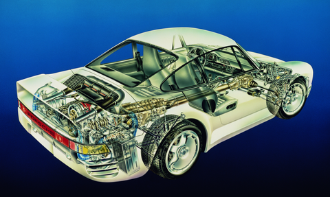 The Secret Story Of The Porsche 959 Why Porsche Built Six 959s For