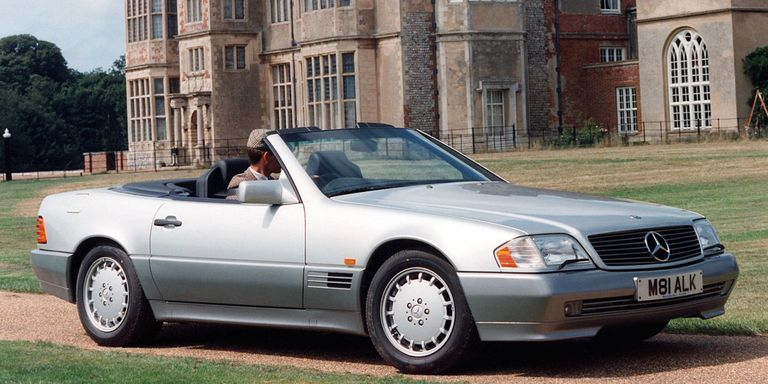 In 1990 the mercedes benz 500sl was the pinnacle of for How much is a 1990 mercedes benz worth
