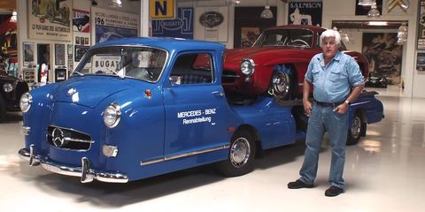 Can You Imagine Doing 100-MPH in This 1950 Mercedes Racecar Transporter?