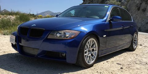 This Is a BMW 335i with 830 Wheel Horsepower