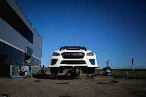 This 550-hp Subaru Is the Ultimate Road Racing WRX STI