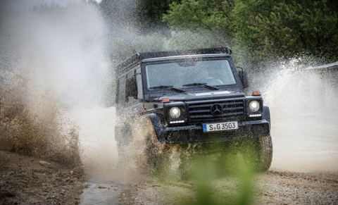 This Diesel Mercedes G-Wagen Is the One You Really Want