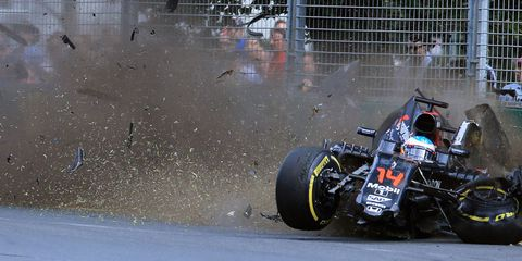 Fernando Alonso Experienced 46Gs in His Huge Australian GP Crash