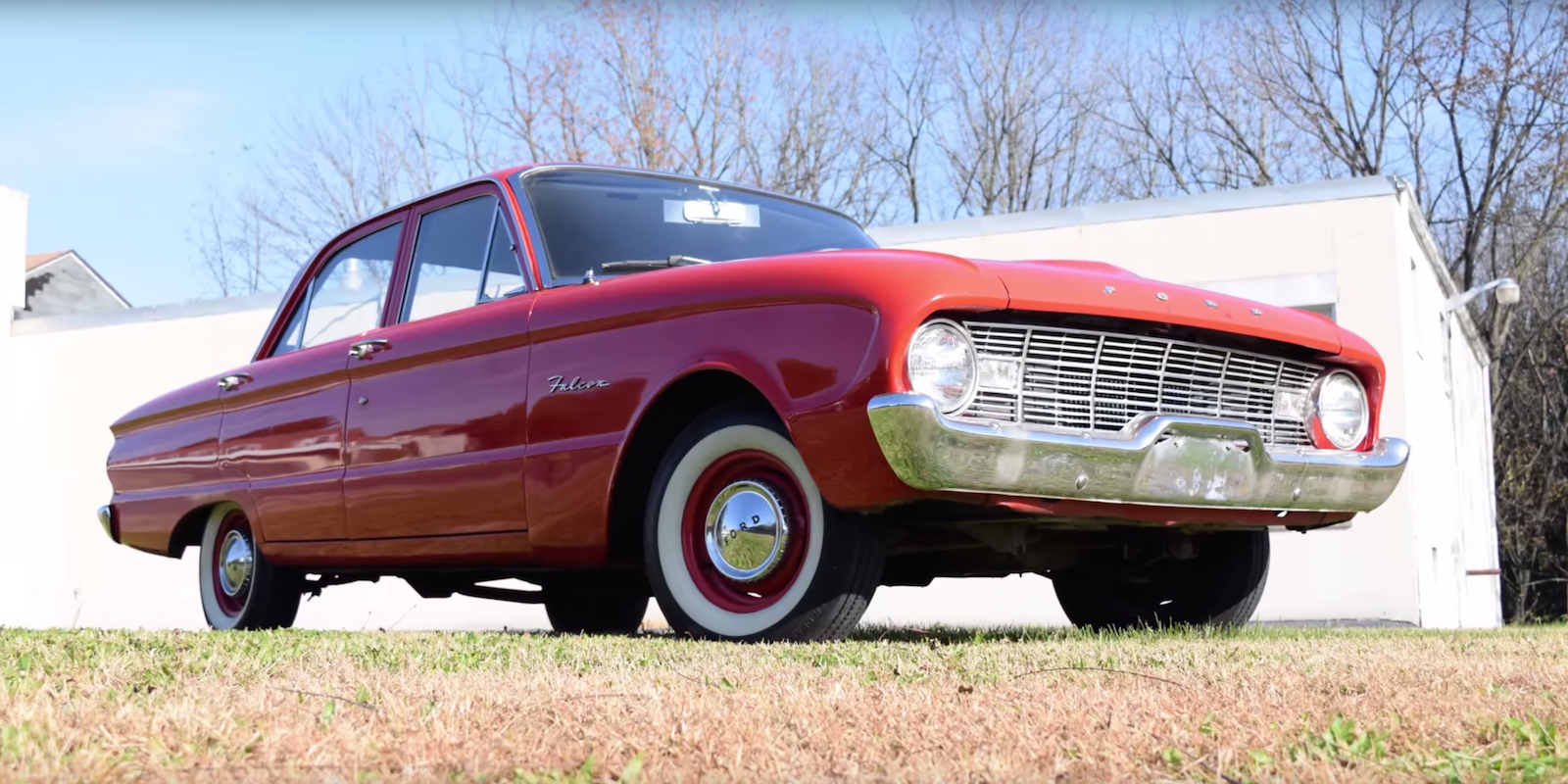 A Stock 1960 Ford Falcon Is a Different Sort of Classic Car