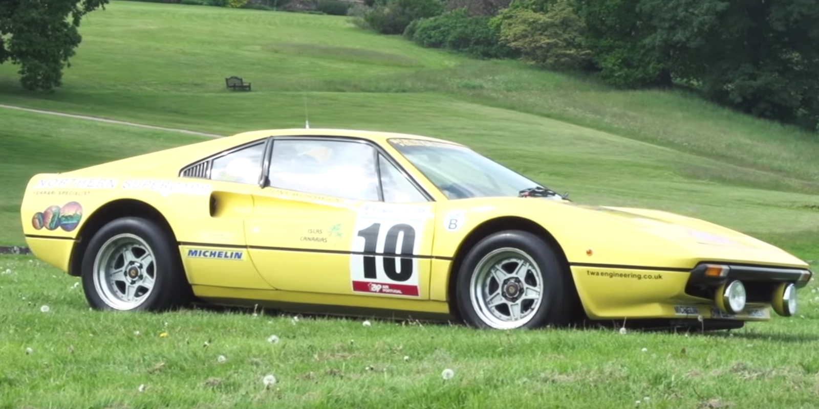 This Is the Ferrari 308 GTB Group B Rally Car of Your Dreams