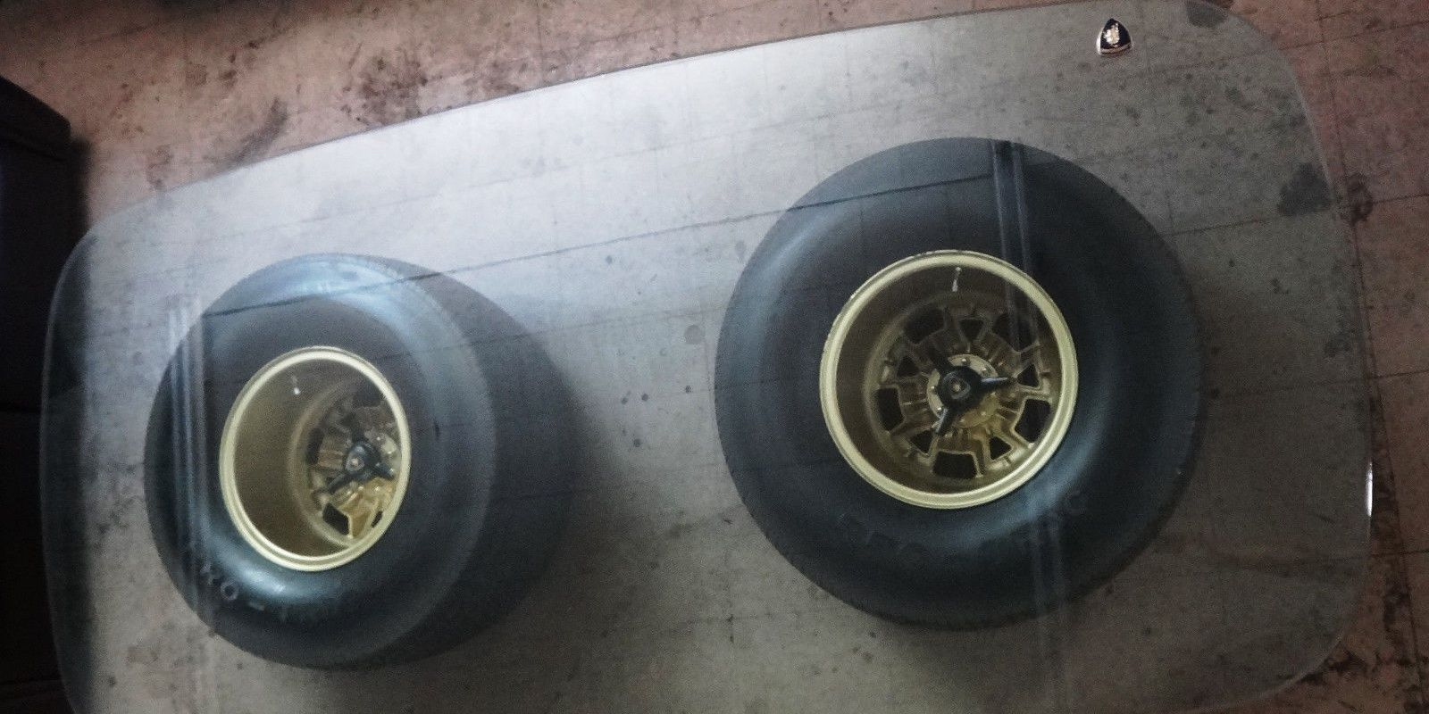 A pair of lamborghini miura wheels makes an expensive coffee table geotapseo Gallery