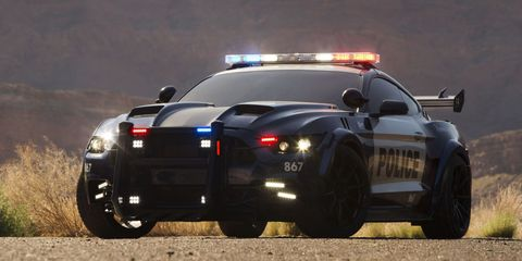 Oh Look, It's the Evil Mustang From the New 'Transformers' Movie