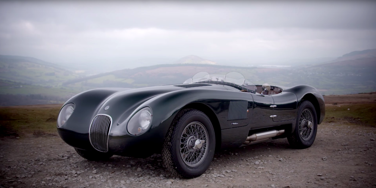This Modern Recreation Of A Jaguar C Type Makes A Strong Case For Replica  Cars