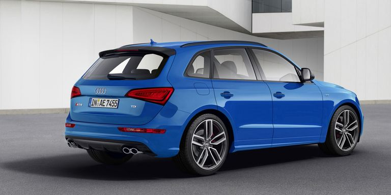 The 2017 Audi SQ5 TDI Comes With an Electric Turbo and More Speed