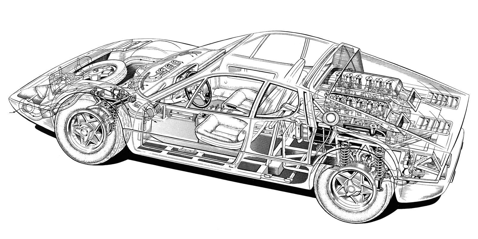ten of the weirdest powertrain layouts ever used in cars rh roadandtrack com Ferrari 312B Engine Specs Ferrari Boxer Buyer