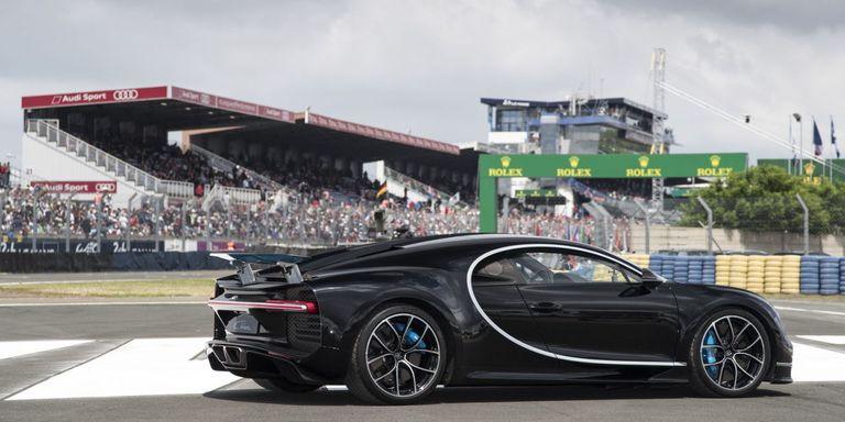 bugatti chiron top speed - fastest car at le mans