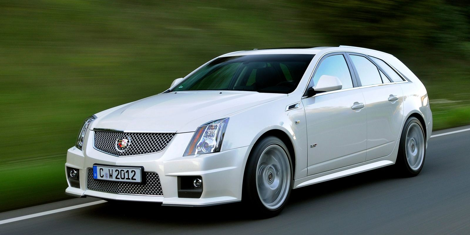 For some wonderful reason, Cadillac decided to build a wagon version of its second-generation CTS. And then it decided to sell a V version of that wagon. The CTS-V Sport Wagon never made it past that one generation, but for a few years, we were blessed with a 556-hp American station wagon.