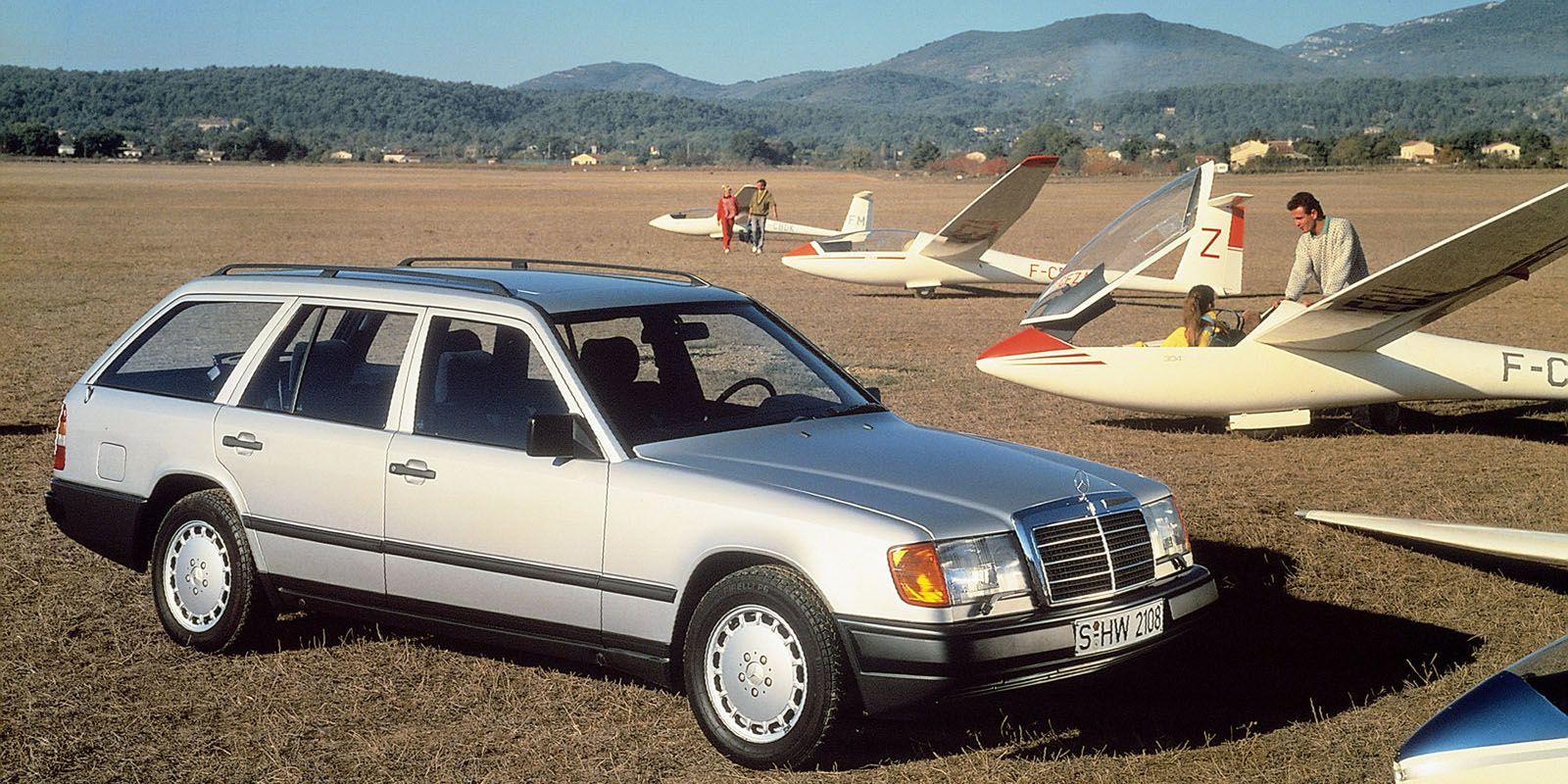 All Types mercedes e class estate 2010 : Throwback Press Photo of the Week: 1988 Mercedes-Benz E-Class Estate