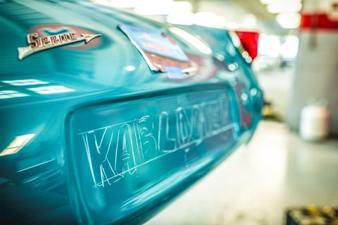 The Lost Art Of Hand Painted Race Car Lettering