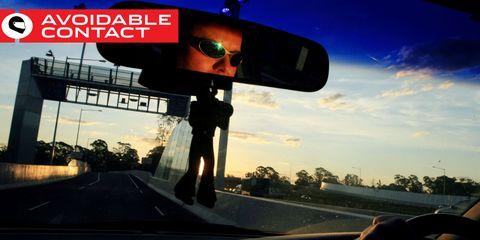 Eyewear, Automotive mirror, Mode of transport, Vision care, Glass, Goggles, Asphalt, Rear-view mirror, Sunglasses, Windshield,