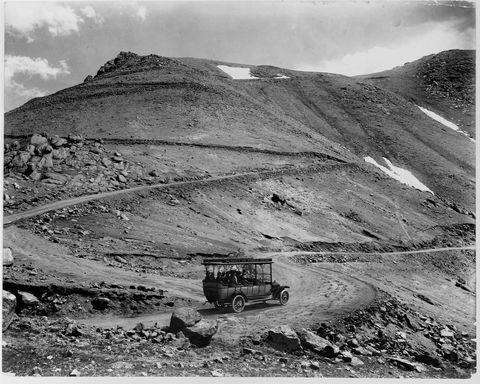 pikes peak hill climb 100 years