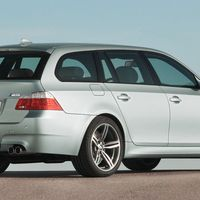 <p>Its design was controversial when it was first introduced, but the E60 BMW 5 Series has aged much better than we thought. And in wagon guise, it looks even better. Packing a healthy 500 horsepower, the M5 Touring is also the only V10-powered car on this list.</p>