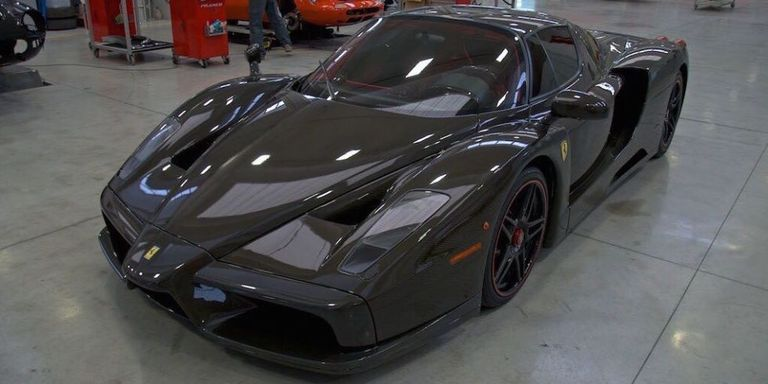 the only bare carbon ferrari enzo ever made is selling for. Black Bedroom Furniture Sets. Home Design Ideas