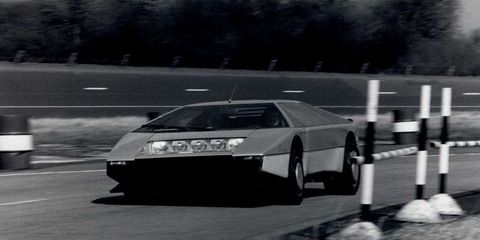 In 1979 Aston Martin Built A Twin Turbo Wedge That Could Reach 191mph