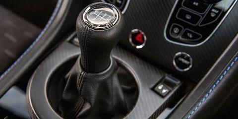 v12 vantage manual transmission
