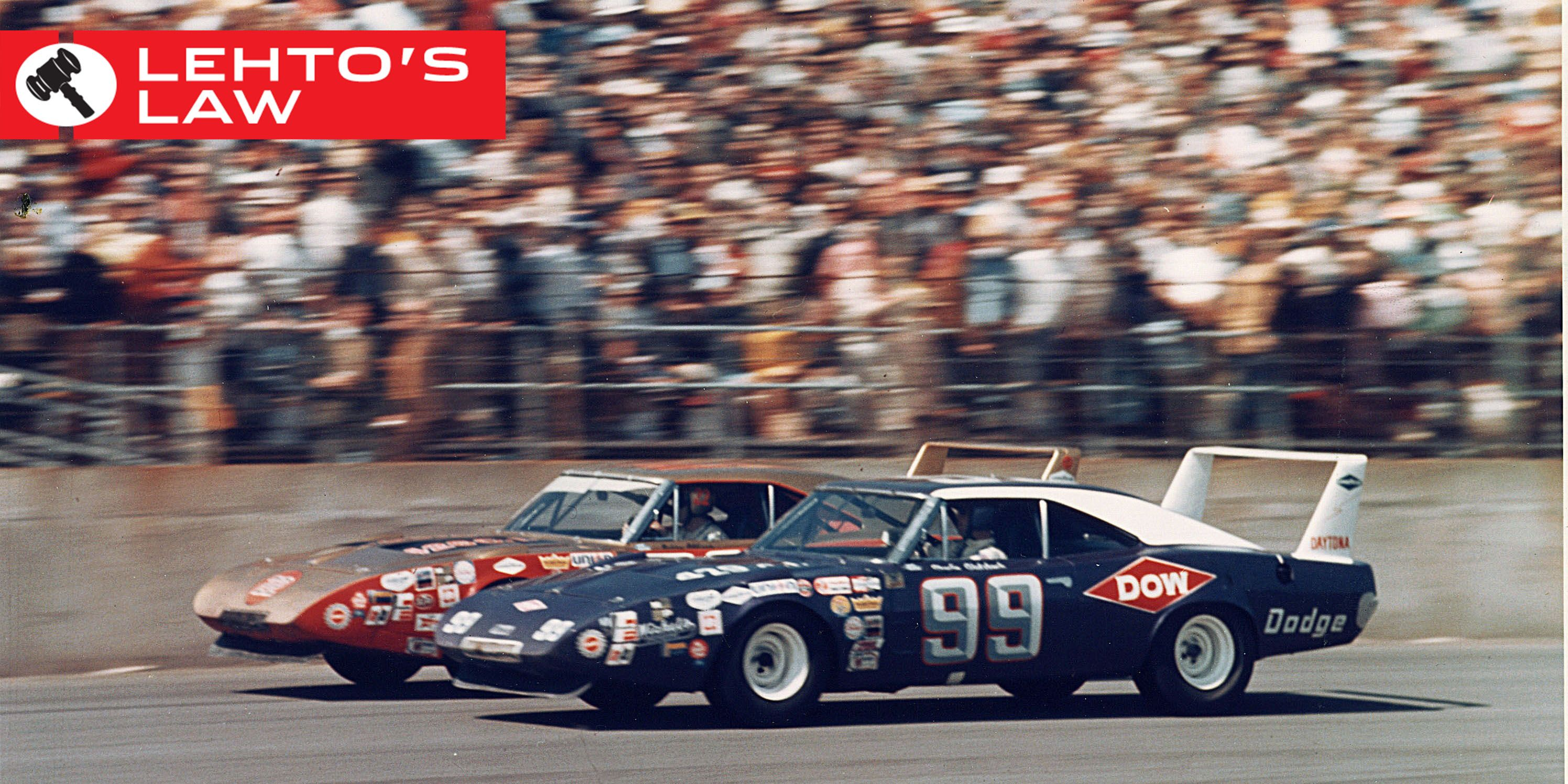 Why The Charger And Superbird Had That Huge Wing Awesome Vintage Race Cars
