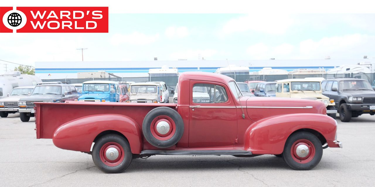 These Eight Obscure Pickup Trucks Are Vintage Design Classics 1949 Chevy Sedan Delivery