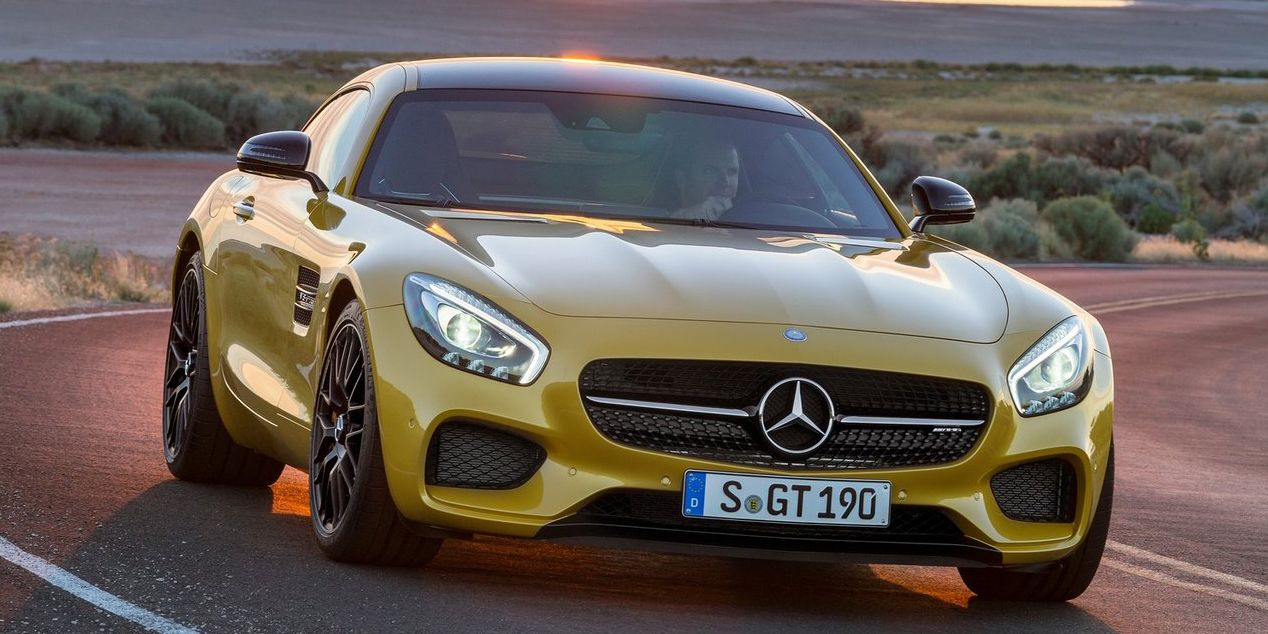 The Next Mercedes-AMG GT Might Be All-Wheel Drive