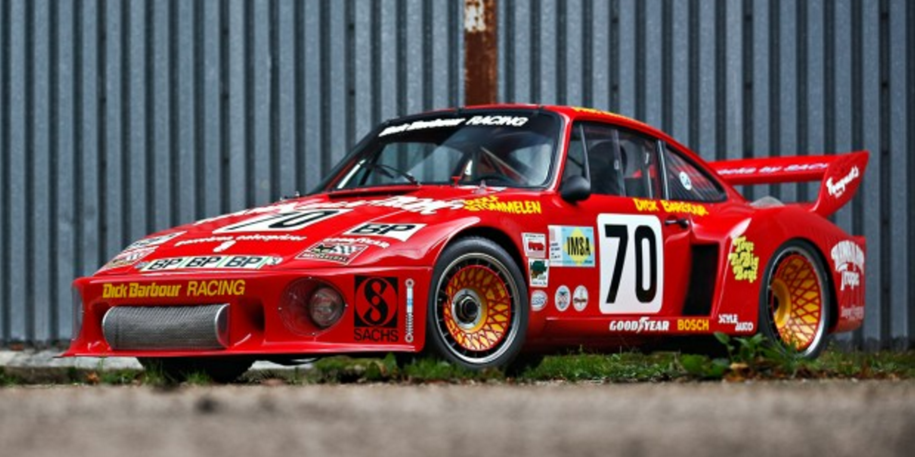 Paul Newman\'s Porsche 935 Le Mans Racer Is For Sale