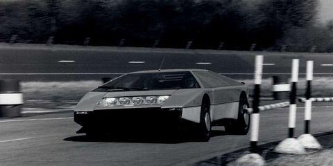 Aston Martin Bulldog testing