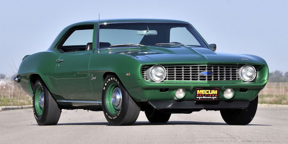 Best American Muscle Cars: 12 Best American Muscle Cars