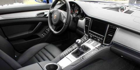 Porsche Panamera Manual