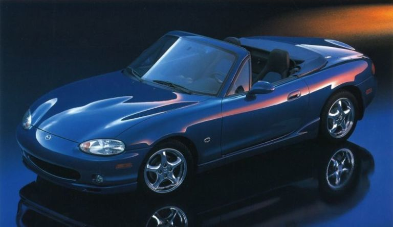 The 1999 10th Anniversary Edition. Mazda