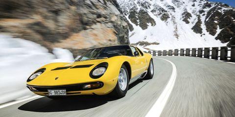 Lamborghini Threw an Amazing 50th Birthday Party For the Miura