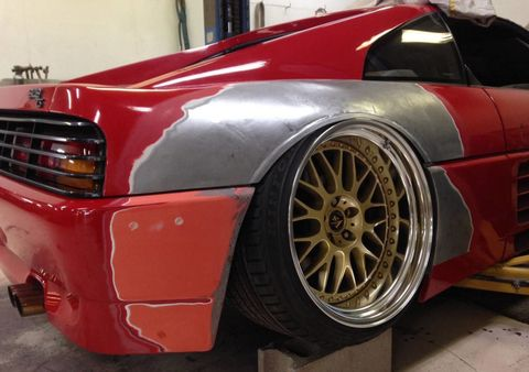 Here S Why You Shouldn T Hate This Stanced Ferrari 348