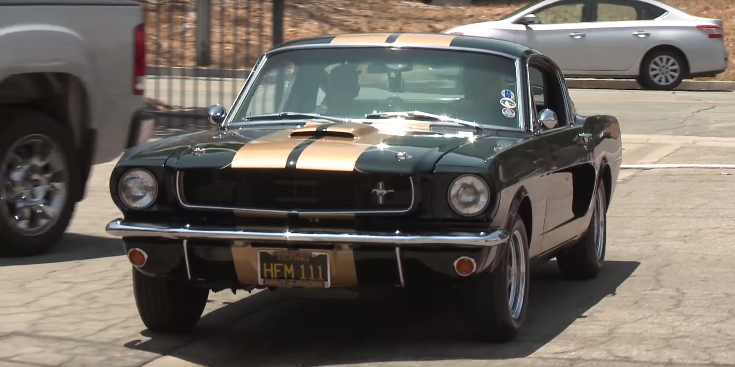 Jay leno drives the original ford mustang shelby gt350 h