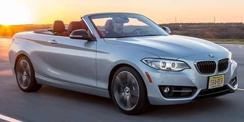 """<p>Do you love the idea of driving <a href=""""http://quizcards.info/car-culture/a29245/bmw-2-series-comparison-test/"""" target=""""_blank"""">the best 2 Series on the market</a> but wish it came with a soft top? Well, you're in luck, because the 228i offers a convertible version. And at a base price of $38,650, you can add the Track Handling Package without breaking the bank.</p>"""