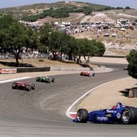 <p>Admire Mazda Raceway Laguna Seca's hilly, twisted challenges? The storied history of New England's Lime Rock Park? Or Nevada's Spring Mountain for that post-Vegas hangover? It's not just about proximity to your own garage, it's about what the track holds for you, and a potential vacation in the making. </p>