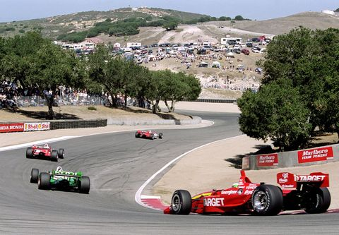<p>Contrary to popular belief, the Corkscrew isn't the scariest corner on the track. Nor is it scary at all. No, it's the uphill stretch and then the 180-foot tall elevation change, back down to earth, that makes this place seem like a roller coaster. With blind crests and technical apexes, MRLS is an exhilarating rush no matter what you're driving—or riding. </p>