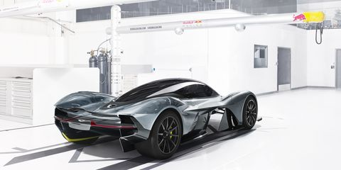 Aston Martin and Red Bull's Hypercar Generates 4000 Pounds of Downforce with No Wing