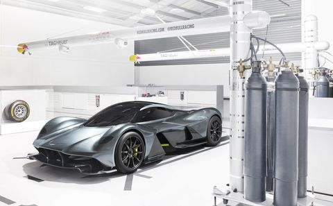 Aston Martin's Upcoming Hypercar Will Hit 250 mph and Offer 4.5G of Grip