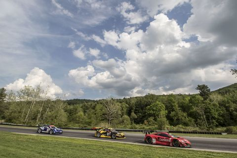 <p>At this 1.5-mile track tucked among northwestern Connecticut's verdant hills, the fastest lap here is just 43 seconds. With just seven turns, it is a simple layout that is deceptively tough. Since nearly everything in New England is old, Lime Rock Park is one of America's oldest tracks, dating back to 1956—a place that John Fitch, America's Le Mans legend, called home.</p>