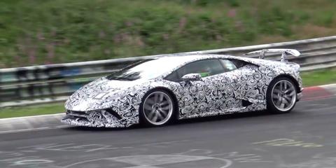 Oh Look, It's Video of the 2018 Lamborghini Huracan Superleggera