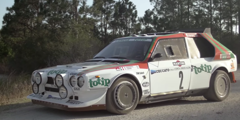 The Lancia Delta S4 Is 550 Horsepower of Turbo- and Supercharged Fury