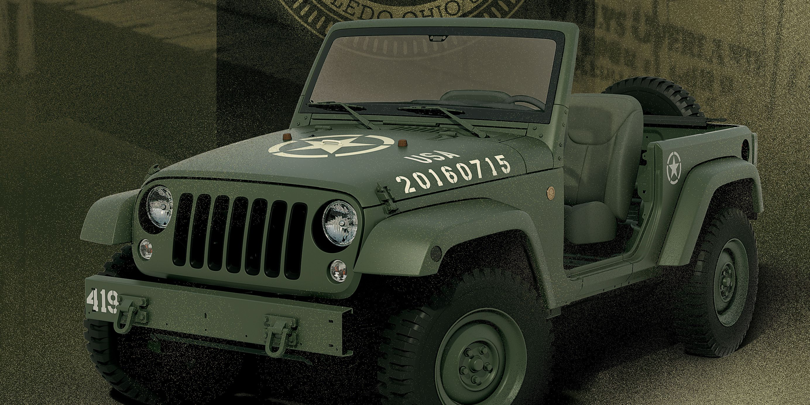 Jeep 75th Anniversary Jeep Wrangler Concept Celebrates 75 Years of