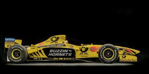 746e6aa218c8 The Buzzin est of Hornets  Jordan F1 s 1999 Race Car Is Up For Auction