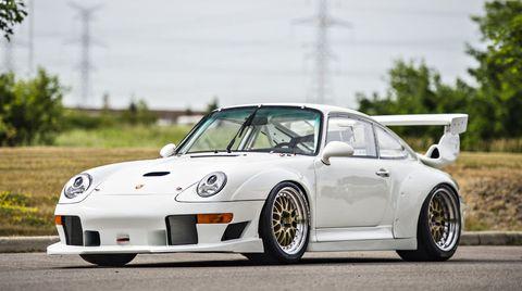 Porsche 911 993 GT2 Evo front