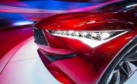 Acura vision headlights